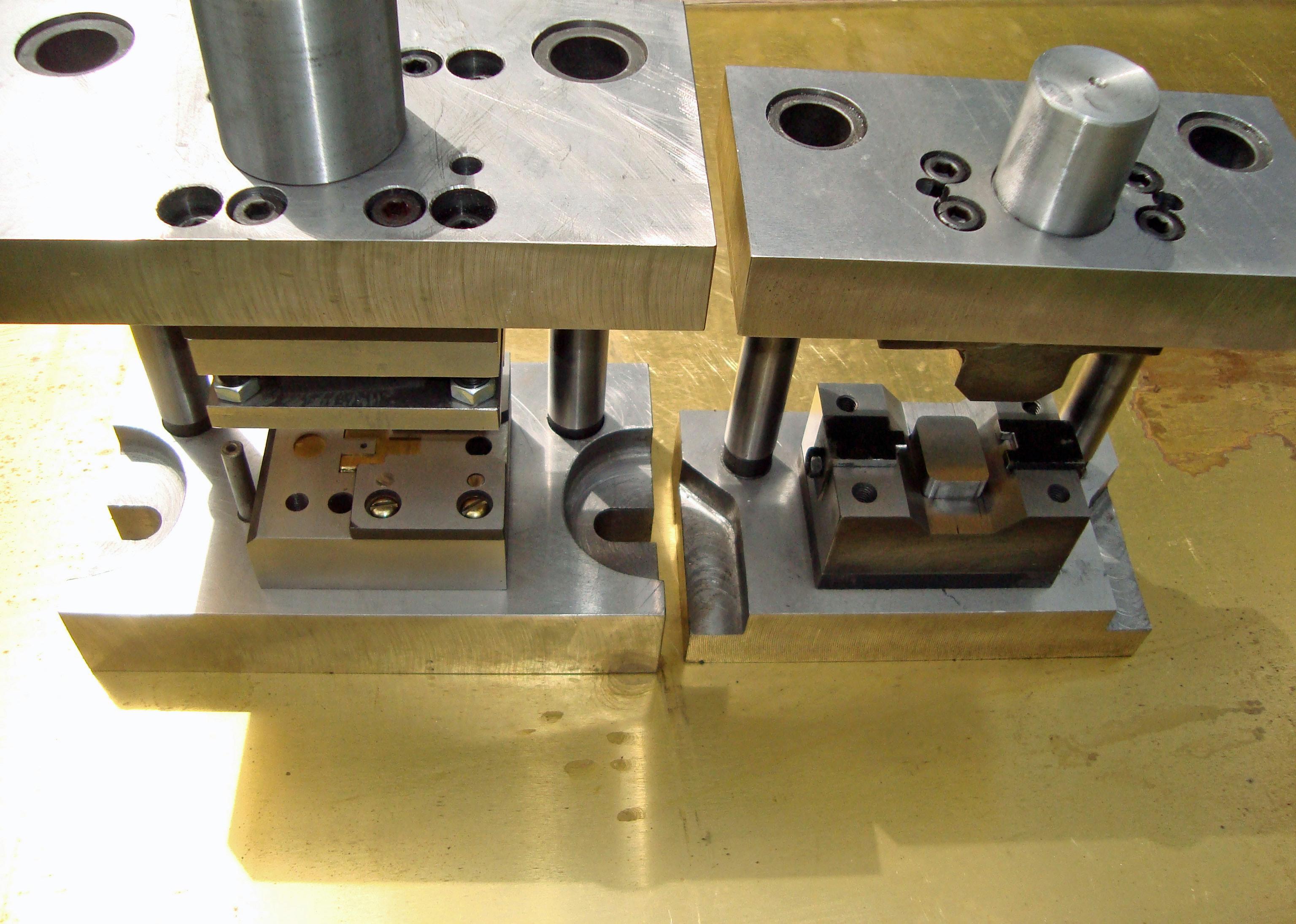 оснастка для штампа холодной штамповки